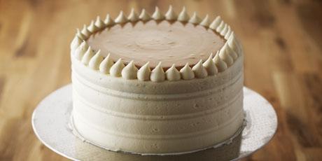 Vanilla Caramel Cake